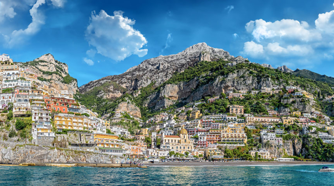 Italian video lessons and Vlog! From Ravello to Positano