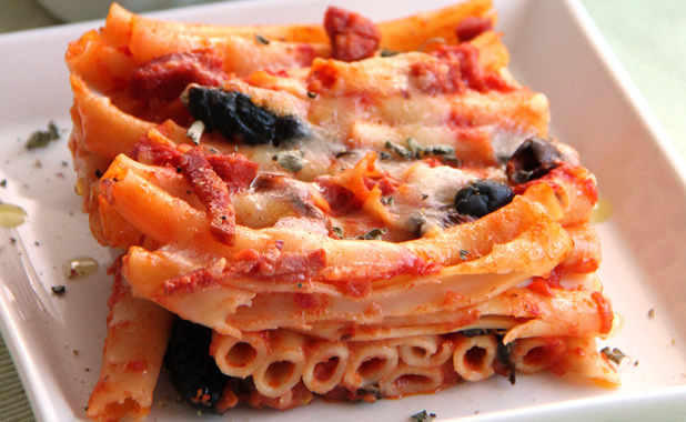 Italian cooking lessons: Spicy Baked Ziti