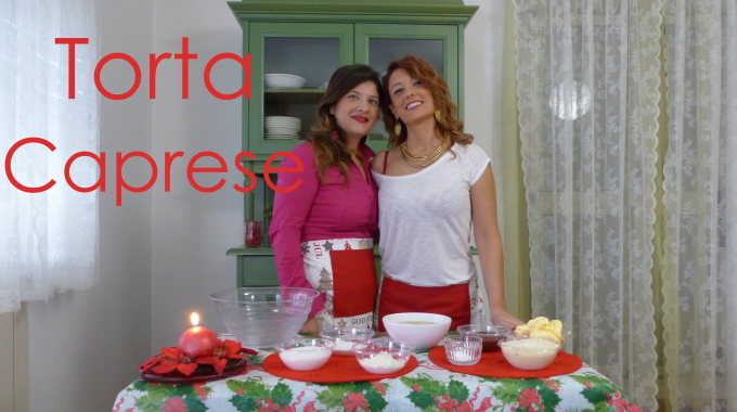 Learn Italian online with Caprese Cake!