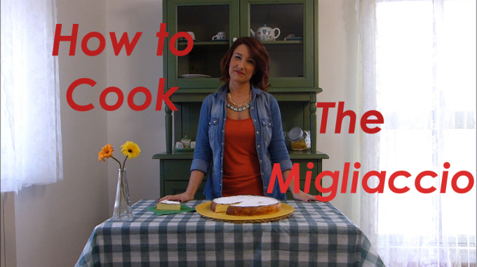 Italian cooking lessons on youtube! Migliaccio Cake