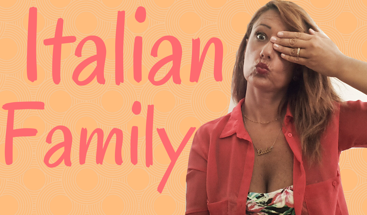 English In Italian: Learn Italian Vocabulary: Italian Family